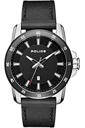 Police Police Herren Analog Quarz Uhr mit Leder Armband PL.15526JSTB/02