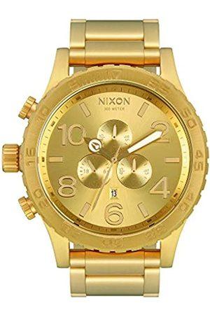 Nixon Nixon Herrenuhr Chronograph Quarz mit Edelstahlarmband – A083502-00