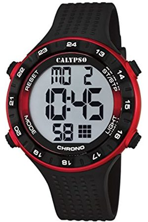 Calypso Calypso Watches Herren-Armbanduhr XL K5663 Digital Quarz Plastik K5663/4
