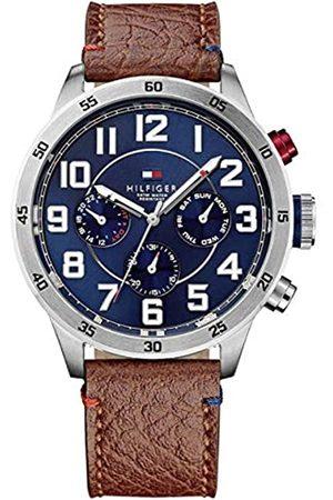 Tommy Hilfiger Tommy Hilfiger Watches Herren-Armbanduhr Analog Quarz Leder 1791066