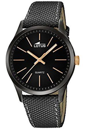 Lotus Lotus Herren Analoger Quarz Uhr mit Echtes Leder Armband 18165/2