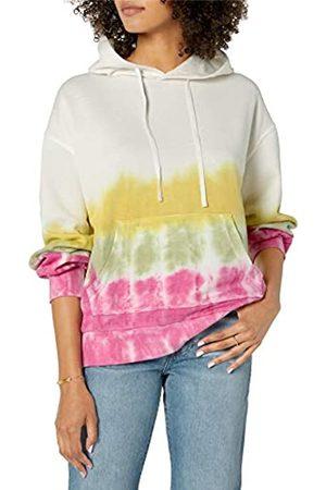 THE DROP Damen Longsleeves - Damen Tatyana Sweatshirt mit Kapuze und langen Ärmeln, aus Fleece