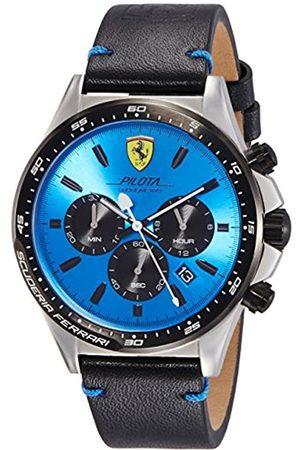 Scuderia Ferrari ScuderiaFerrariHerrenChronographQuarzUhrmitLederArmband830388