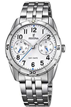 Festina Festina Unisex Analog Quarz Uhr mit Edelstahl Armband F16908/1