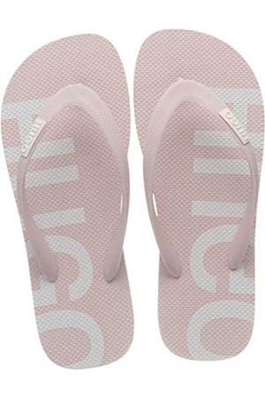 HUGO BOSS HUGO Damen Onfire_Thng_rblg Pantoletten, Pink (Light/Pastel Pink 682)