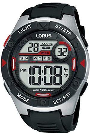 Lorus LORUS Herren Digital Quarz Uhr mit Silicone Armband R2393MX9