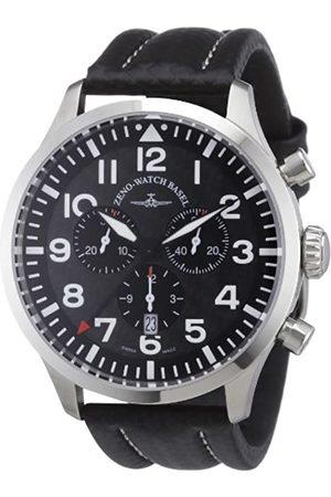 Zeno Zeno Watch Basel Herren-Armbanduhr XL Quarz Analog Leder 6569-5030Q-s1