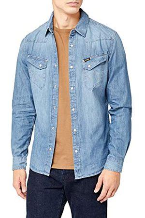 Wrangler Wrangler Herren Western Denim Shirt Jeans Hemd