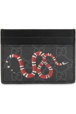 Gucci Kartenhülle Aus Gg-supreme-stoff