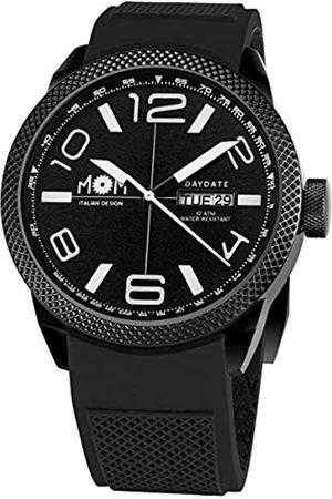 M.O.M. Manifattura Orologiaia Modenese M.O.M. Manifattura Orologiaia Modenese Herren Analog Uhr mit Silikon Armband PM7000-91