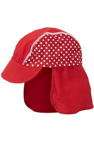 Playshoes Playshoes Baby-Mädchen UV-Schutz Punkte Mütze, Rot (rot)