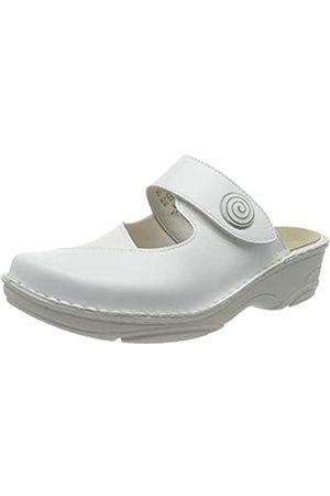 Berkemann Berkemann Damen Heliane Clogs, Weiß (Weiß 130)