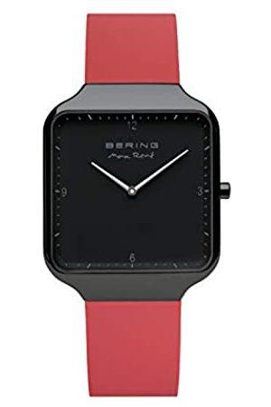 Bering BERING Herren Analog Quartz Uhr mit Silikon Armband 15836-523
