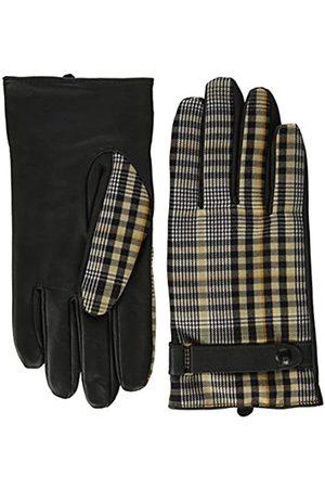 Scotch&Soda Scotch & Soda Herren Classic wool-panelled leather gloves Handschuhe