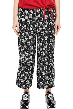 s.Oliver S.Oliver RED Label Damen Regular Fit: Wide Leg-Hose 46