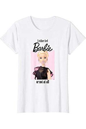 Barbie Damen Shirts - Damen T-Shirt, Kaugummi