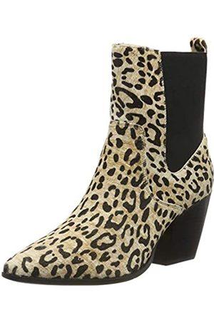 Buffalo Damen Ferry Stiefeletten, Mehrfarbig (Cheetah 001)