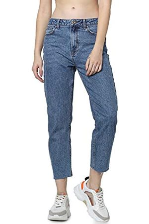 Only ONLY Damen Straight Jeans onlEMILY HW ST RAW JNS DB MAE 0005 NOOS