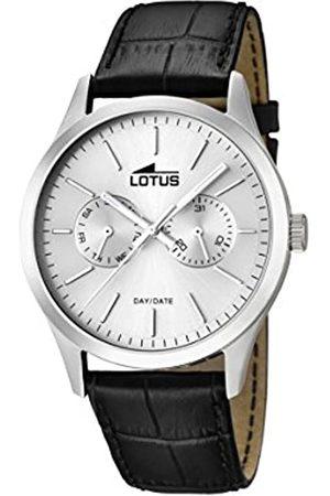 Lotus Lotus Herren Analog Quarz Uhr mit Leder Armband 15956/1
