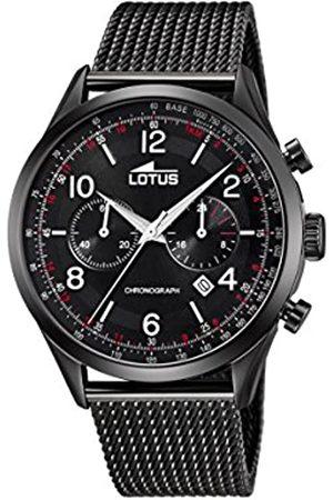 Lotus Lotus Herren Analoger Quarz Uhr mit Edelstahl Armband 18556/1