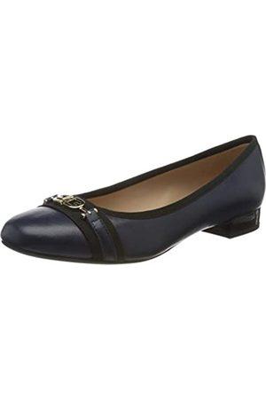 Geox Damen D WISTREY D Geschlossene Ballerinas, ( /Black)