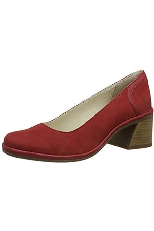 Fly London Damen Luno188fly Pumps, (Lipstick Red 001)