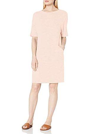 Daily Ritual Damen Freizeitkleider - Cozy Knit Oversized-Fit Seamed Pocket Dress Kleid