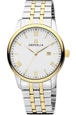 ORPHELIA Orphelia Herren-Armbanduhr Sterling Analog Quarz Edelstahl