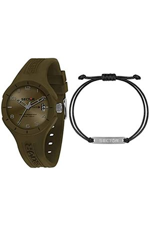 Sector No Limits Sector No Limits Herren Analog Quarz Uhr mit Silikon Armband R3251514018