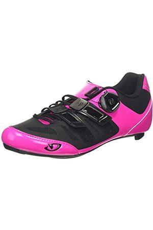 Giro Damen Raes Techlace Road Radsportschuhe - Rennrad, Mehrfarbig (Bright Pink/Black 000)