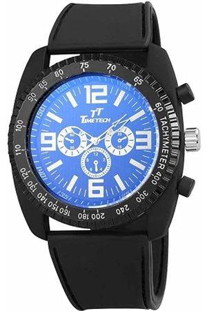 Shaghafi Shaghafi Herren Analog Quarz Uhr mit Kautschuk Armband 227221000001