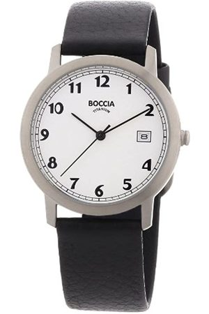 Boccia Boccia Herren-Armbanduhr Leder 3617-01