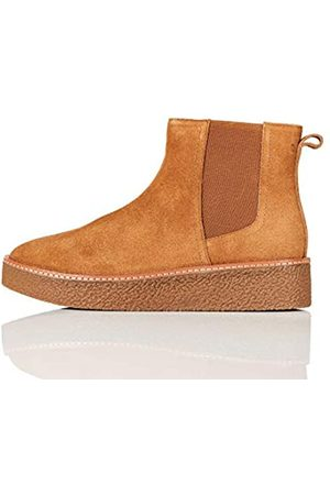 FIND Gumsole Chelsea Boots, Dark Taupe)