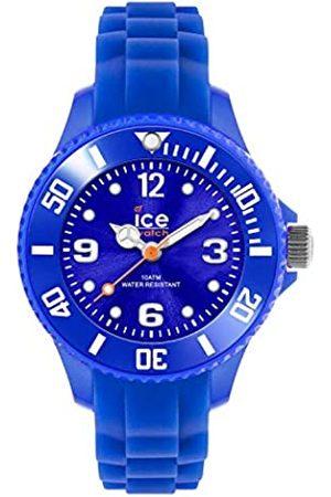 ICE-WATCH Jungen Uhren - ICE forever Blue - Blaue Jungenuhr mit Silikonarmband - 000791 (Extra small)