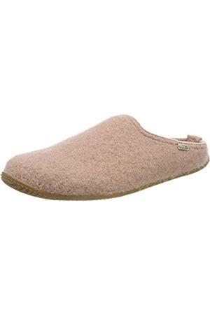 Living Kitzbühel Damen Pantoffel Uni Pantoffeln, Pink (Woodrose 334)