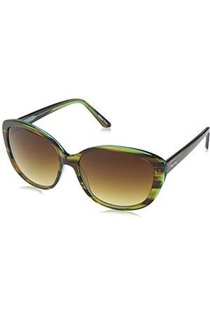 Kipling Damen SUNGLASS FASH Sonnenbrille, (Green Tortoise)