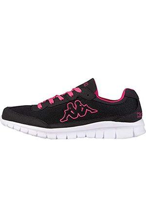 Kappa ROCKET Low Top | Sneakers für Sport & Freizeit | angesagter -Style für Modebewusste Damen & Herren | atmungsaktiv & stabil | hoher Tragekomfort | (1127 Black/L`pink)