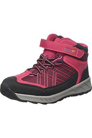 Regatta Unisex Samaris V Mid Jnr Walking Shoe, DkCeris/NePk