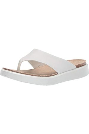 Ecco ECCO Damen CORKSPHERESANDAL Pantoffeln, Weiß (White 1007)
