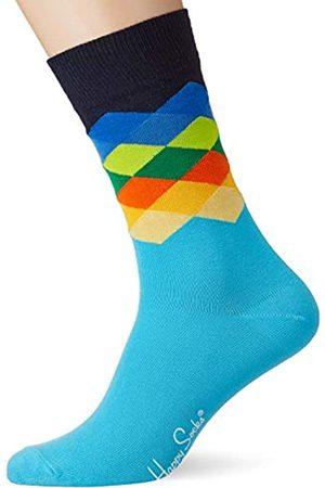 Happy Socks Herren Faded Diamond Socken