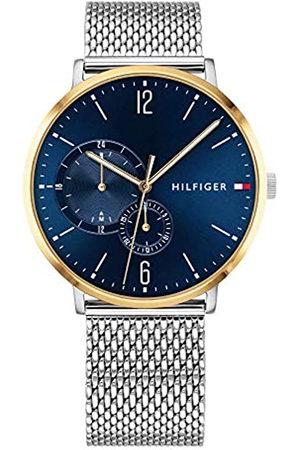 Tommy Hilfiger Tommy Hilfiger Herren Multi Zifferblatt Quarz Uhr mit Edelstahl Armband 1791505