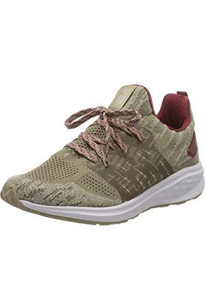 Jack Wolfskin Damen Coogee Knit Low W Sneaker, (Sand/Auburn 5262)