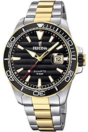 Festina Festina Herren Analog Quarz Uhr mit Edelstahl Armband F20362/2