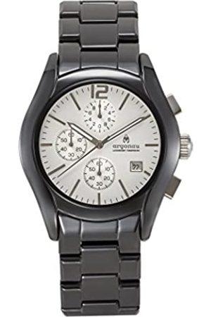 ARGONAU Argonau Unisex Erwachsene Analog Quarz Uhr mit Keramik Armband AU1100