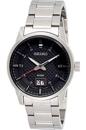 Seiko Seiko Herren Analog Quarz Uhr mit Edelstahl Armband SUR269P1