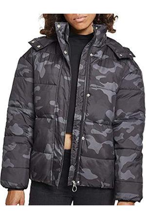 Urban classics Damen Ladies Boyfriend Camo Puffer Jacket Jacke
