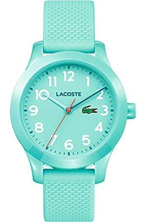 Lacoste Lacoste Unisex-Kinder Datum klassisch Quarz Uhr mit Silikon Armband 2030005