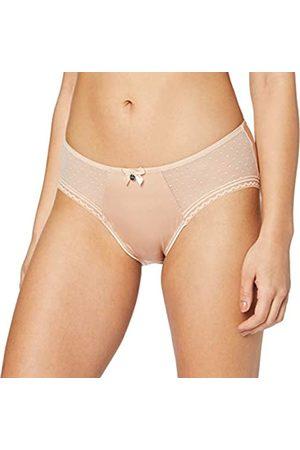 HUBER Huber Damen Unterhose Body Couture Midi Slip, Beige (Nude 010719)