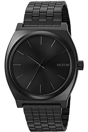 Nixon Nixon Herren Analog Quarz Uhr mit Edelstahl Armband A045001-00