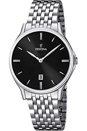 Festina Festina Herren Analog Quarz Uhr mit Edelstahl Armband F16744/4